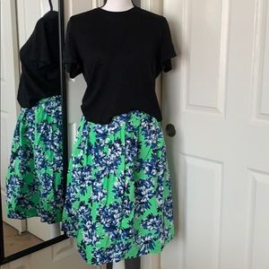 ⬇️REDUCED!!! J.Crew Patio skirt in photo floral